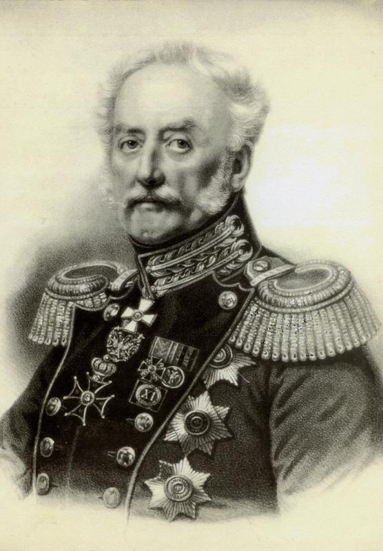 Gen. mjr Iwan Dehn, twórca Cytadeli Warszawskiej