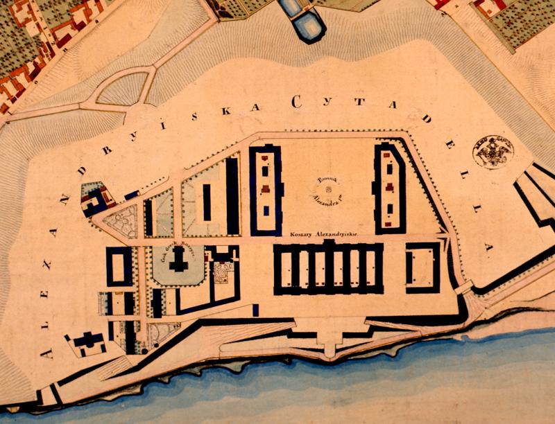 Plan Cytadeli Warszawskiej