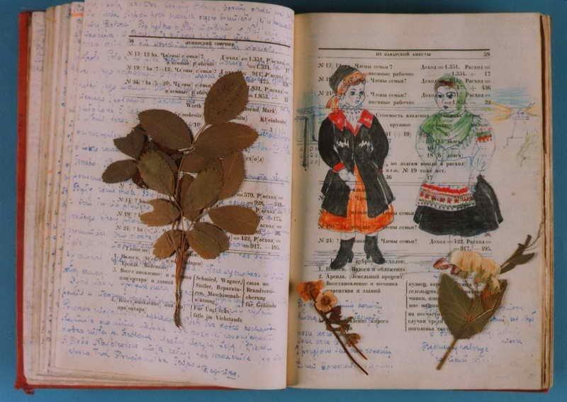 Pamiętnik Reginy Dubiniec prowadzony na kartkach książki