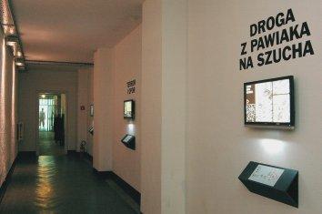 Fragmenty multimedialnej wystawy