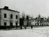 Fragment budynku X Pawilonu z wartownią (foto z 1916 r.)
