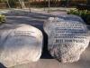 Kamień pamiątkowy pod Krzyżem Romualda Traugutta na miejscu egzekucji członków Rządu Narodowego