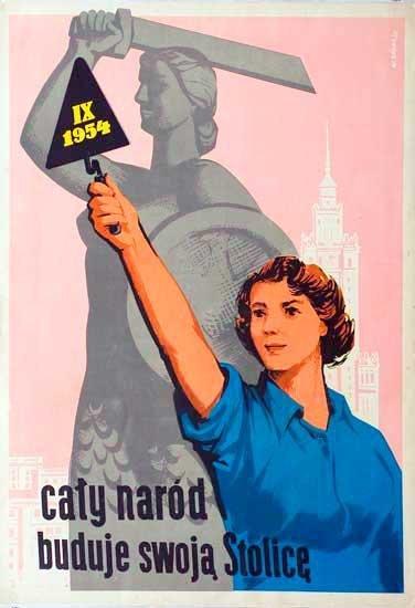 Plakat Patriotyczny Wojenny I Socrealistyczny W Polsce