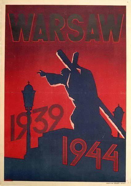 Stanisław Lipiński, Warsaw / 1939-1944, 1945, plakat