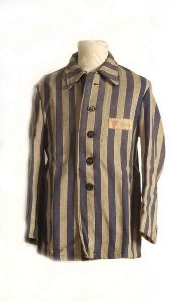 Bluza obozowa Teresy Madeyskiej z KL Auschwitz-Birkenau
