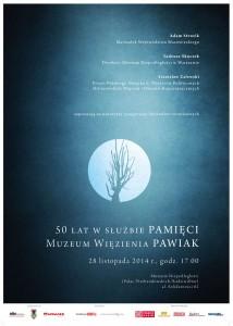 Plakat PAWIAK 50(L)