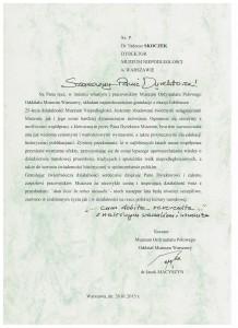 Jubileusz 25- lecia , Muzeum Ordynariatu Polowego