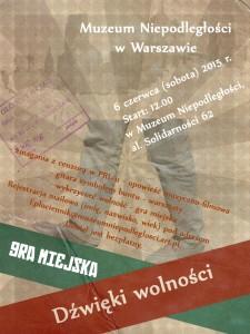 Plakat Gra Miejska kopia