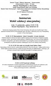 Seminarium_Edukacja emocjonalna_21.10.