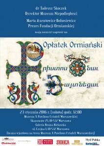 Op³atek Ormaiañski - ok³adka (08.01.2016)
