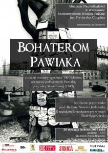 Zaproszenie Pawiak - ok³adka