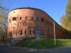 Fragment murów Cytadeli kaponierą (foto współczesne)