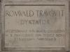 Tablica pamiątkowa w celi Romualda Traugutta