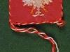 Orzeł w koronie - miniatura wyhaftowana przez Marię Rogowską, Norylsk, Krasnojarski j Kraj 1945-1954