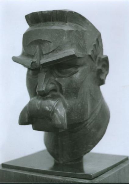 Zbigniew Dunajewski, Józef Piłsudski, 1935, brąz
