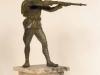 Autor nieznany, Legun z karabinem, 1916-1920, rzeźba
