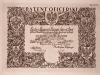 Patent oficerski Zygmunta Augusta Wieleżyńskiego podpisany przez ministra spraw wojskowych J. Piłsudskiego, 1934