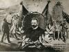 Pocztówka upamiętniająca śmierć Marcina Kasprzaka straconego na stokach Cytadeli Warszawskiej 8 IX 1905