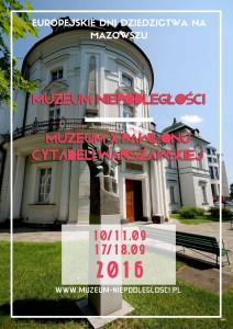 Europejskie Dni Dziedzictwa na Mazowszu kopia
