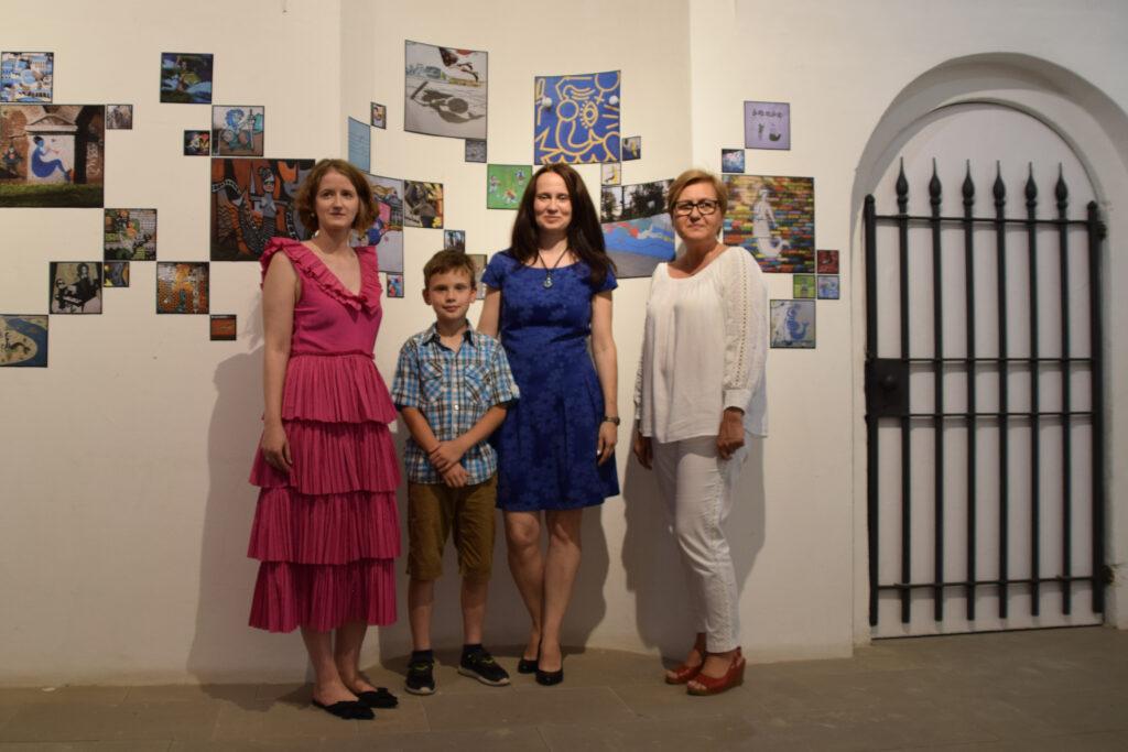 Wernisaż prac Moniki Gligi 28-07-2021 Galeria Brama Bielańska